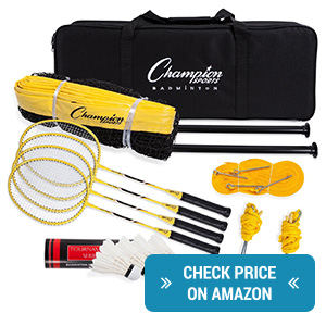 Champion Sports Badminton Set Review