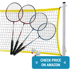 MD Sports 4-Player Badminton Set review