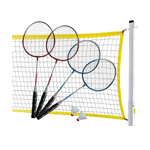 MD Sports 4-Player Badminton Set