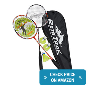 RiteTrak Sports 2 Rackets Set review